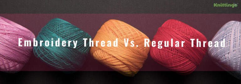 Embroidery thread vs. regular thread